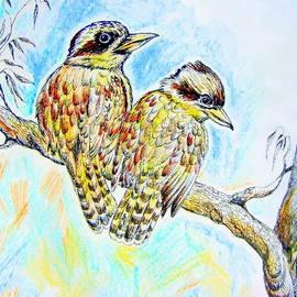 Roberto Gagliardi - Two kookaburras in color