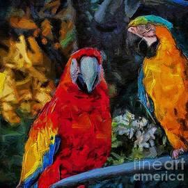 John  Kolenberg - Two Macaws
