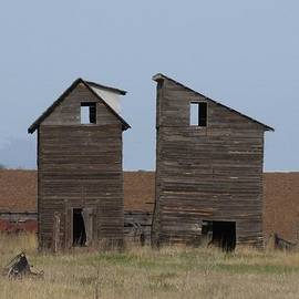 Jeff Swan - Two Old Storage Barns