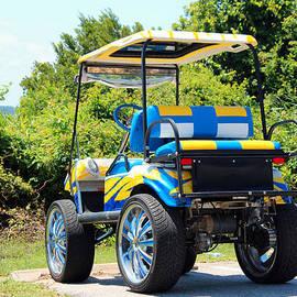 Cynthia Guinn - Two Tone Golf Cart