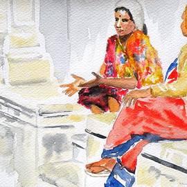 Uma Krishnamoorthy - Two women in conversation
