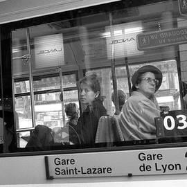 Dave Beckerman - Two Women Paris Bus