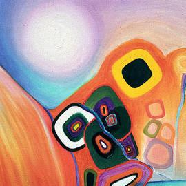 Judith Chantler - Two Worlds Mandala