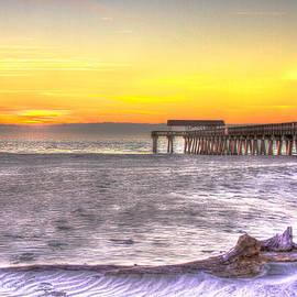 Reid Callaway - Tybee Island Pier Winter Sunrise