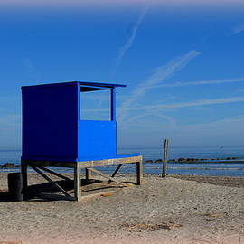 Linda Covino - Tybee life guard shack