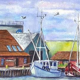 Carol Wisniewski - Tyboron Harbour in Denmark