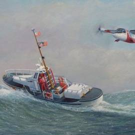 William H RaVell III - U. S. Coast Guard 44ft Motor Lifeboat and Tilt-Motor aircraft