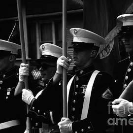 Frank J Casella - U. S. Marines - Monochrome