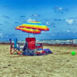 Kristina Deane - Umbrellas at the beach