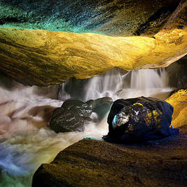 Mark Papke - Underground waterfall 2