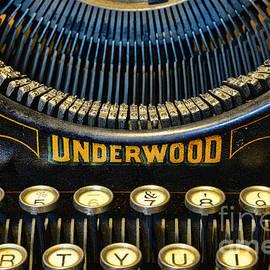 Paul Ward - Underwood Typewriter