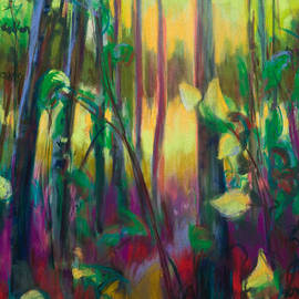 Talya Johnson - Unexpected Path - through the woods