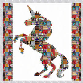 Navin Joshi - UNICORN horse showcasing NavinJOSHI Gallery Art Icons Buy FAA products or DOWNLOAD for self printing