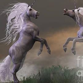Corey Ford - Unicorn Stallions Fighting