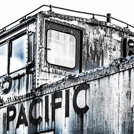 F Leblanc - Union Pacific Caboose - Monochrome