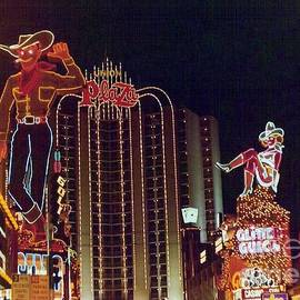 Julie Doerges - Union Plaza Downtown Las Vegas Nevada US 1982