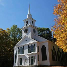 Juergen Roth - Unitarian Meeting House and Town Clock - Warwick - Massachusetts