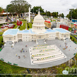 Edward Fielding - United States Capital Building at Legoland