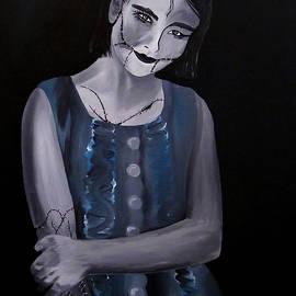 Aarron  Laidig - Untitled  04 zombie doll painting