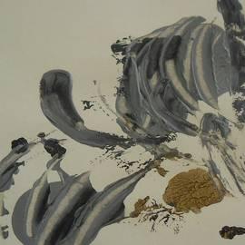 Karen Butscha - Untitled Silver Black Gold