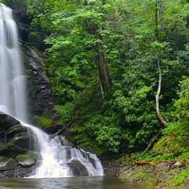 Matt Plyler - Upper Catawba Falls - North Carolina waterfalls