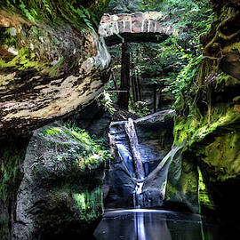 Optical Playground By MP Ray - Upper Falls and Devils Bathtub