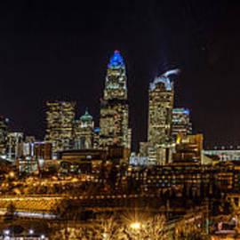 Randy Scherkenbach - Uptown Charlotte Panorama