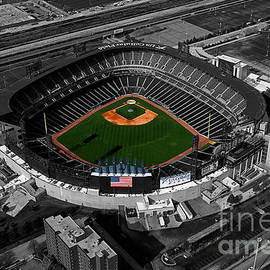 Thomas Woolworth - US Cellular Field Chicago Sports 08 Selective Coloring Digital Art