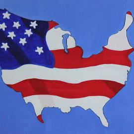 Lorna Maza - Us Flag