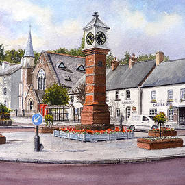 Andrew Read - Usk in Bloom