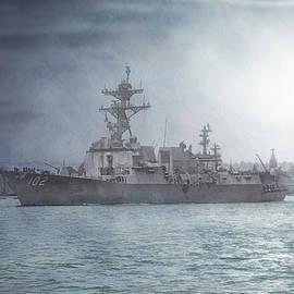 Claude LeTien - USS Sampson