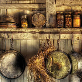 Mike Savad - Utensils - Old country kitchen