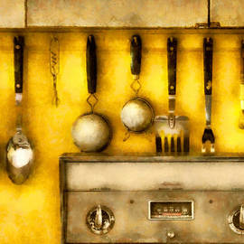 Mike Savad - Utensils - The Kitchen