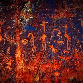 Giovanni Allievi - V-bar-V petroglyphs