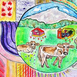 Dominique Fortier - Vaches et moutons / Cows and Sheeps