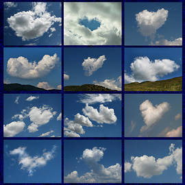 Daliana Pacuraru - Valentine - Clouds for sale Collage