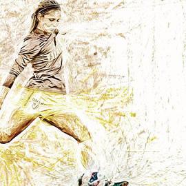 David Haskett - Valparaiso Soccer Sydney Rumple Painted Digitally Etc