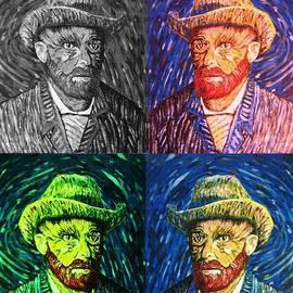 Irving Starr - Van Gogh 4 Colors