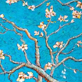 Ion vincent DAnu - Van Gogh Almond Blossom Slightly Interpreted