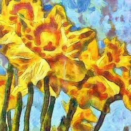 Mario Carini - Van Gogh Daffodils