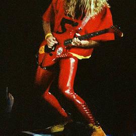 Gary Gingrich Galleries - Van Halen-OU812-Sammy-Red