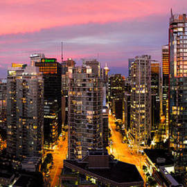 Alexis Birkill - Vancouver Rooftop Sunset