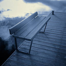 Jouko Lehto - Variations of a dock with an angel reflection