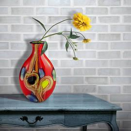Nina Bradica - Vase of Flowers
