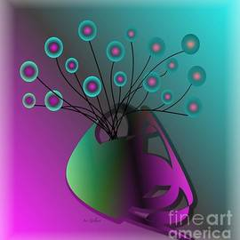 Iris Gelbart - Vase twigs and berries