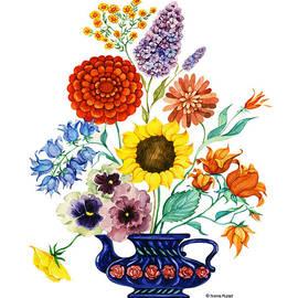 Nonna Mynatt - Vase with flowers