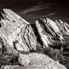 Ken Wolter - Vasquez Rocks Natural Area Park in Black and White