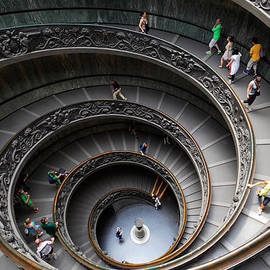 Inge Johnsson - Vatican Spiral Staircase