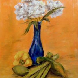 Anne Barberi - Vegetable Flower Still Life