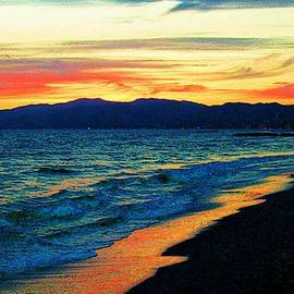 Jerome Stumphauzer - Venice Beach Sunset